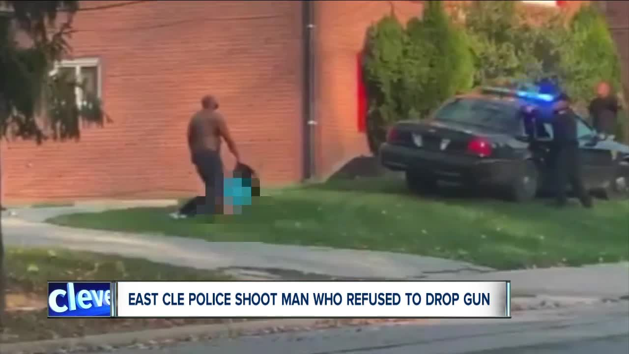 East Cleveland police shoot, kill male they say had gun pointed at female's head