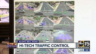 Bell Road gets high-tech traffic control - Video