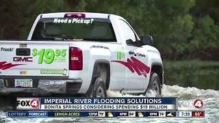 Imperial River flooding solutions - Video