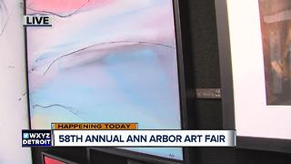 Ann Arbor Art Fair is this weekend - Video