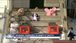 MKE woman charged in baby's death after fire - Video