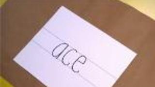 Handwriting: Learning Lower-Case Letters - Video