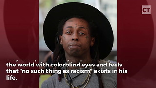 Rapper Explains Why He Views World With Colorblind Eyes - Video