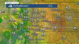 Weekend storms in the forecast for Colorado