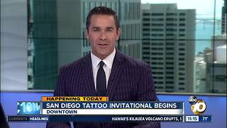 San Diego Tattoo Invitational starts