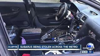 Subaru club reports uptick in car thefts - Video