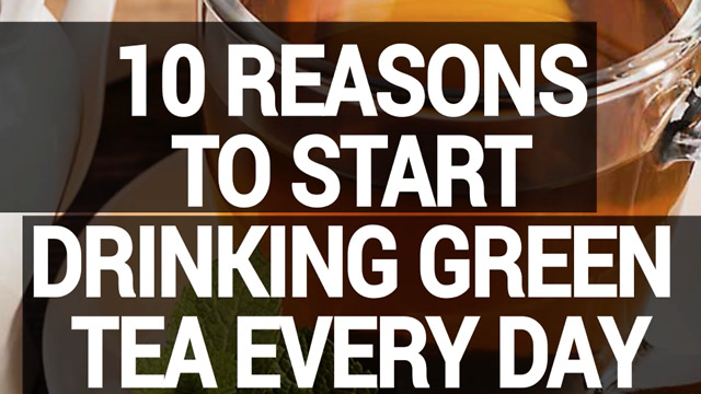 10 reasons to start drinking green tea every day - Video