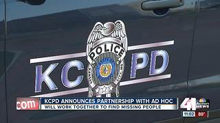 KCPD announces partnership with AdHoc Group Against Crime - Video