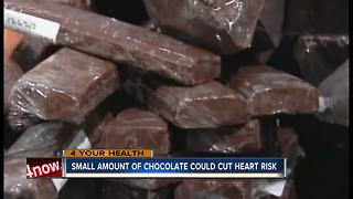 Small amount of chocolate could cut heart disease risk