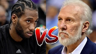 Kawhi Leonard FEUDING with the Spurs Organization - Video