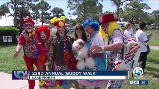 23rd Annual Buddy Walk held in Lake Worth