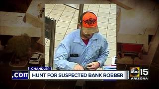 Surveillance photos released in Chandler bank robbery