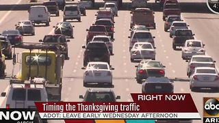 AAA: Record number of cars expected to hit the road this Thanksgiving - Video