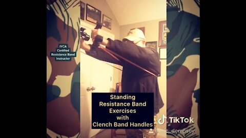 Standing Resistance Band Exercises