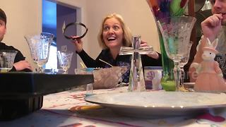 Woman Discovers She Will Be A Grandma During A Board Game - Video