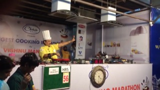Indian chef creates new world record after cooking continuously for 53-hours - Video