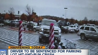 Driver to be sentenced in Lyon Township parking lot hit-and-run - Video