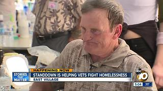 Homeless vets credit StandDown for transforming his life - Video
