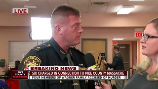 Pike County sheriff gets emotional talking about arrests - Video