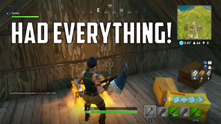 Fortnite Battle Royale- I Had Everything!  - Video