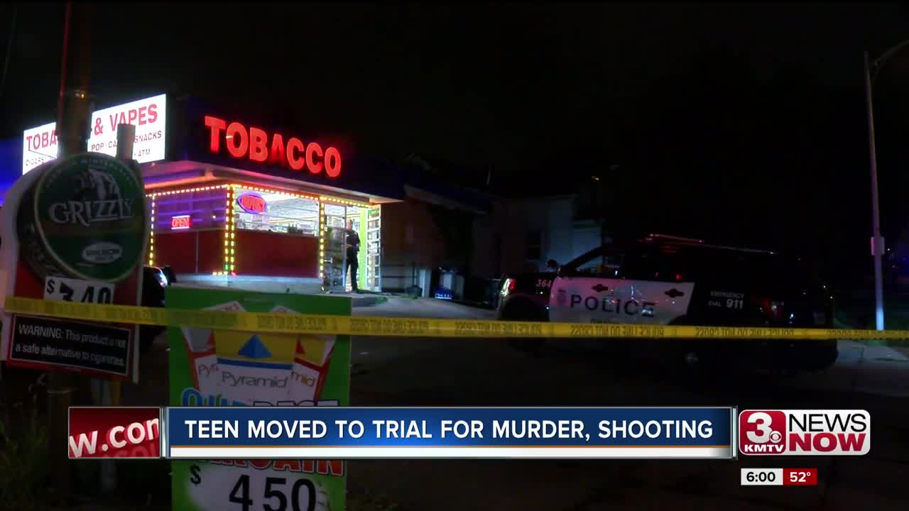 Teen Moved to Trial for Murder, Shooting