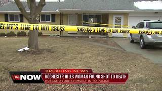 Metro Detroit man turns himself into police after wife found shot to death - Video