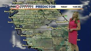 FORECAST: Warm Temps and Weekend Rain Chances - Video