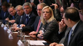 Homeland Security Head Says What She Heard During Immigration Meeting - Video