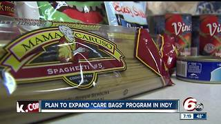 Free food program expands in Indianapolis to help families in need - Video
