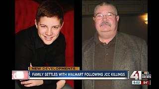 Family settles with Walmart after Jewish Community Center killings - Video