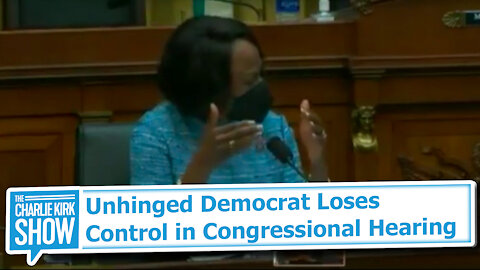 Unhinged Democrat Loses Control in Congressional Hearing