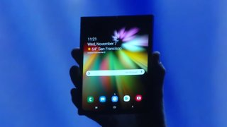 Samsung Infinity Flex Display Foldable Smartphone