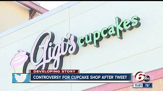 Facebook post by owners of cupcake shop stirs up American flag controversy - Video