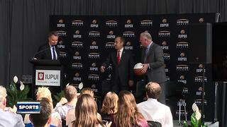 IUPUI joins Horizon League - Video