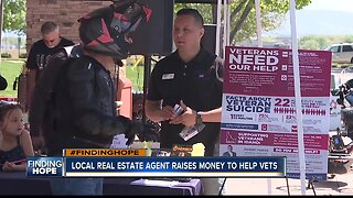 Local real estate agent aims to find hope for veterans by selling homes