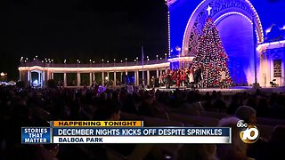 December Nights draws thousands despite rain