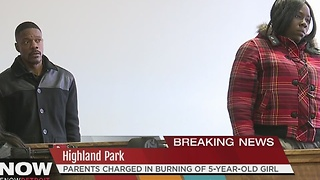 Parents charged in burning of 5-year-old girl - Video