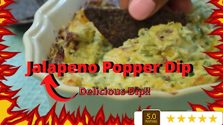 Jalapeno Popper Dip Easy Recipe