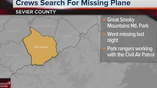 Single-Engine Plane Goes Missing In East Tenn. - Video