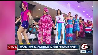 Project Pink Fashion show raises money for breast cancer research - Video