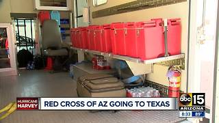 Arizonans taking action to help out with Tropical Storm Harvey - Video