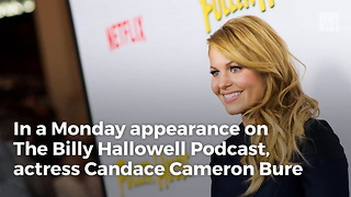 Candace Cameron Bure Has The Perfect Response To Critics Of 'Power Of Prayer' - Video