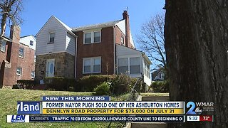 Former Mayor Pugh sells one of her Ashburton homes