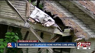 PROBLEM SOLVERS: Woman has problem with dilapidated property