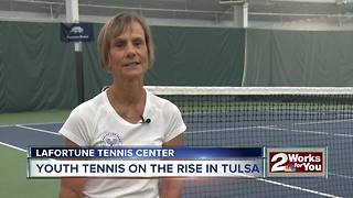 Youth tennis on the rise in Tulsa - Video