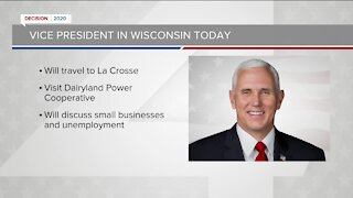 VP Mike Pence, VP candidate Kamala Harris to visit Wisconsin Monday