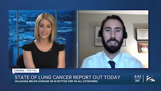 State of Lung Cancer report released on Tuesday