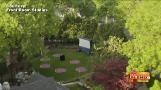 Transform Your Backyard into a Movie Theater