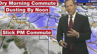 A Snowy Afternoon Commute - Video