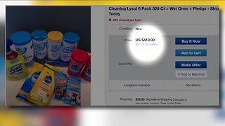Concerns of price-gouging during COVID-19 pandemic